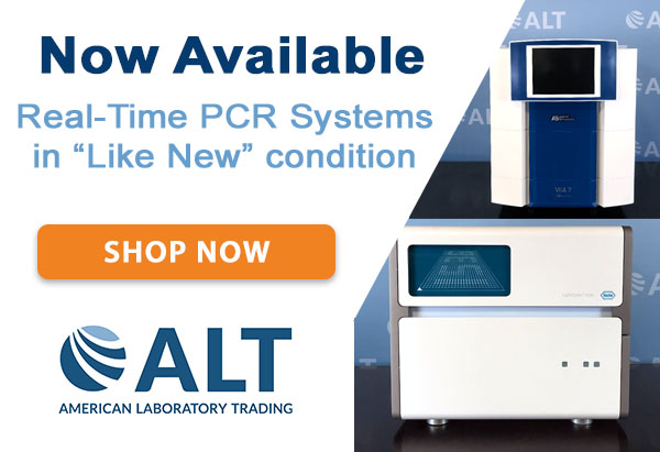 Now Available: Real-Time PCR Systems Image