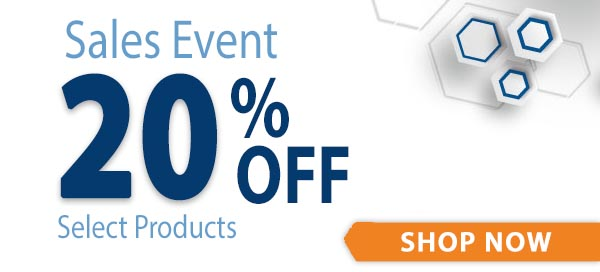 20% Off Sales Event Image