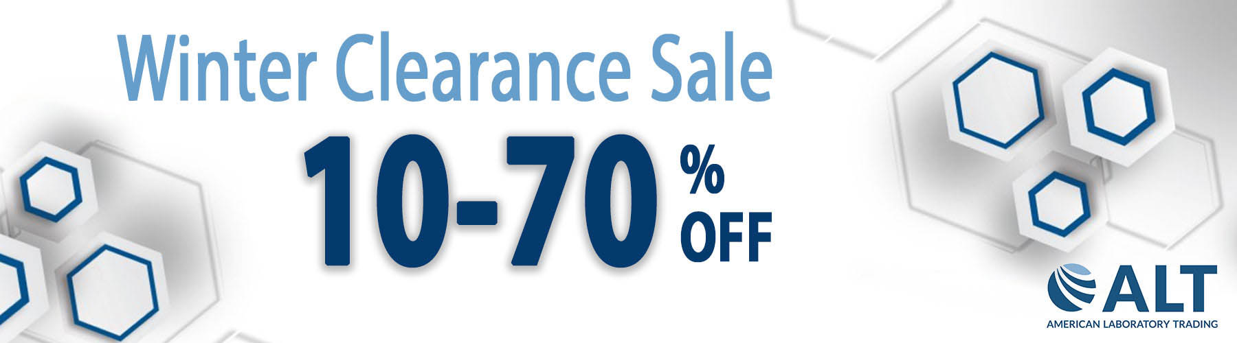 Winter Clearance Sale 10-70% off Lab Equipment! Image